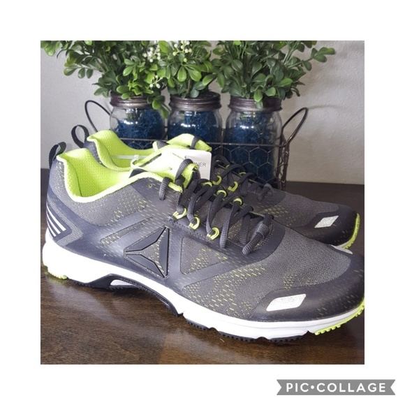 Men s Reebok Running Shoes - Ahary. Grey an. M 5a4733bf8290af7f1314ae16 95a4cd2ad